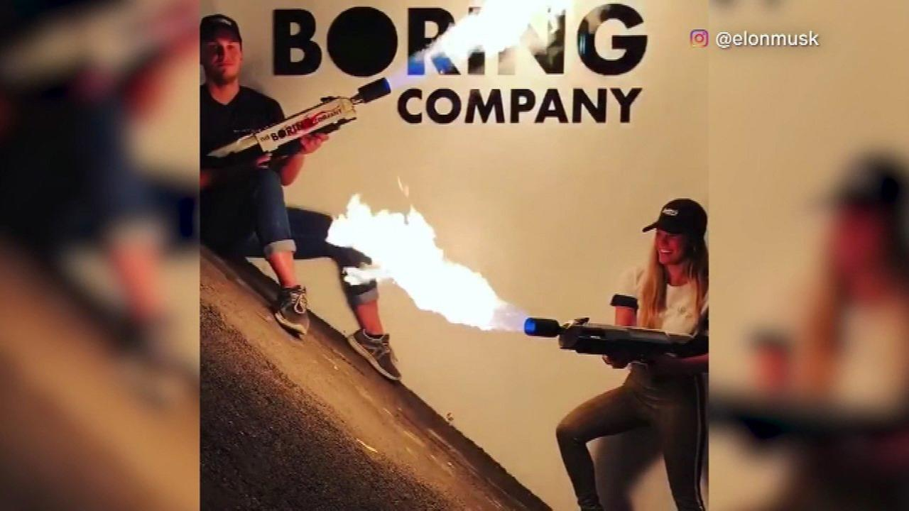 Elon Musks Boring Company is now selling flamethrowers.