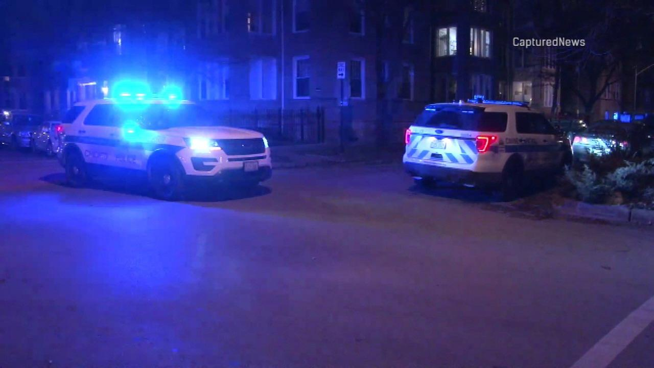 Chicago police respond to a deadly home invasion in the 2400-block of West Eastwood Avenue.