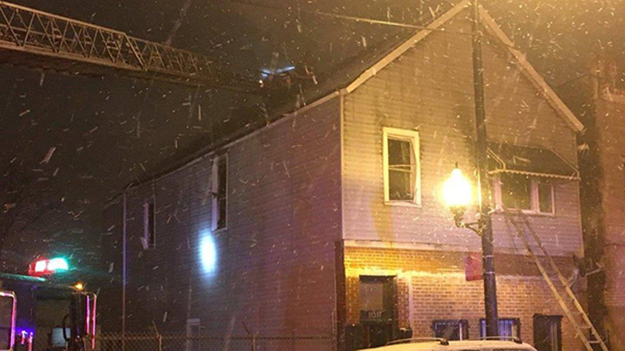 2 firefighters injured in Roseland still and box fire