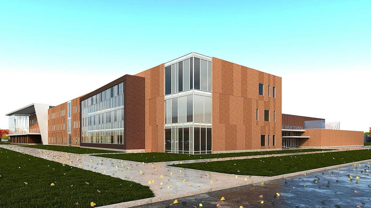 Englewood High School rendering