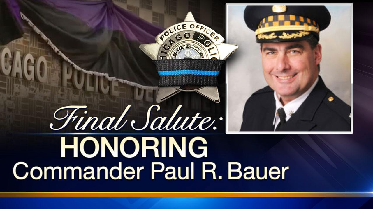 Funeral procession route for Commander Paul Bauer