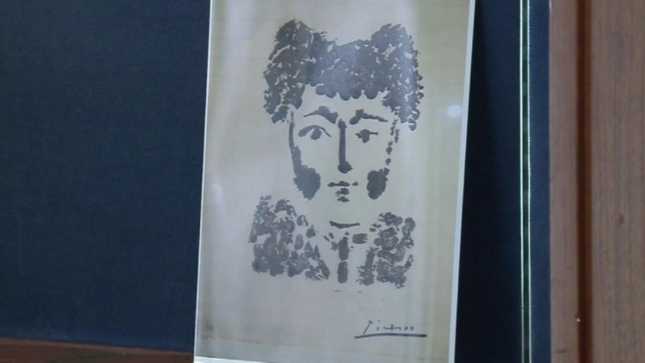 Rare Picasso artwork stolen from Milwaukee shop