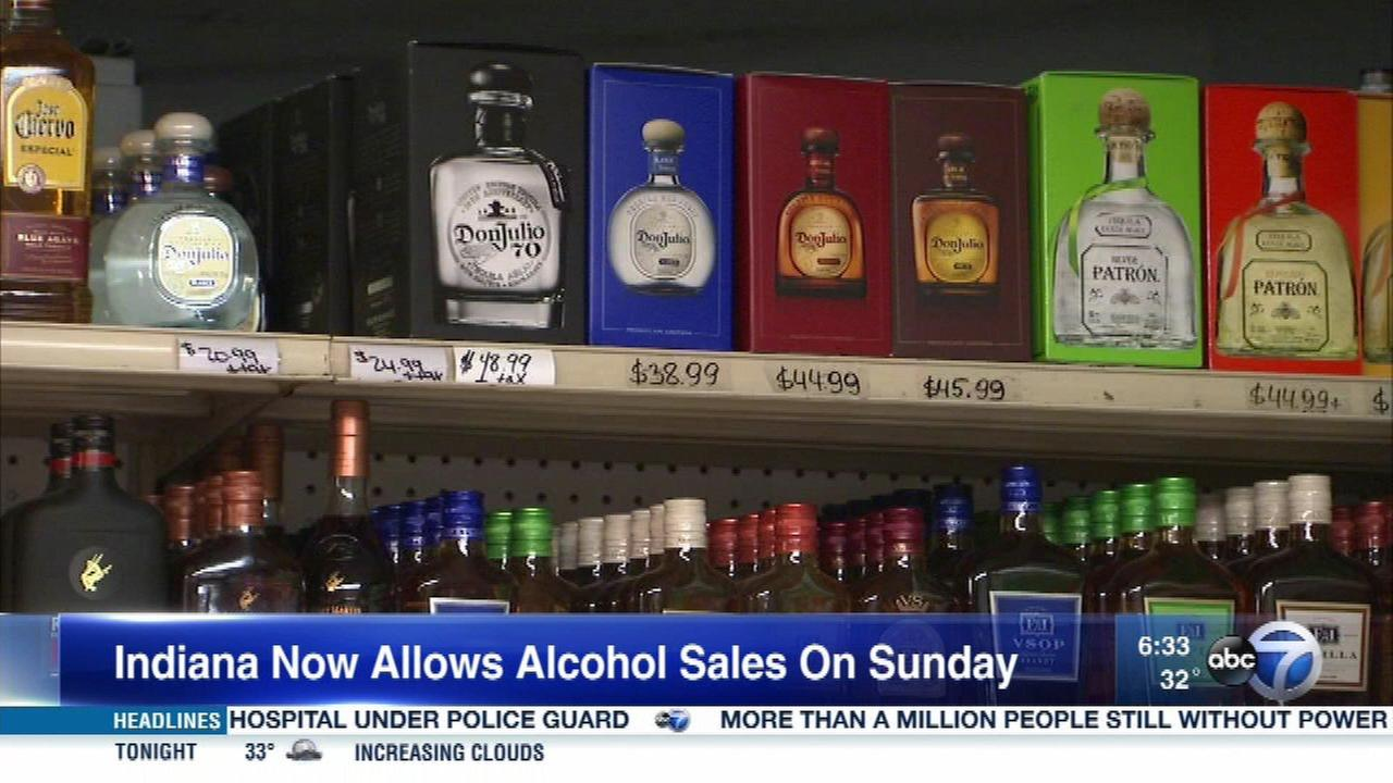 IN liquor stores begin Sunday alcohol sales