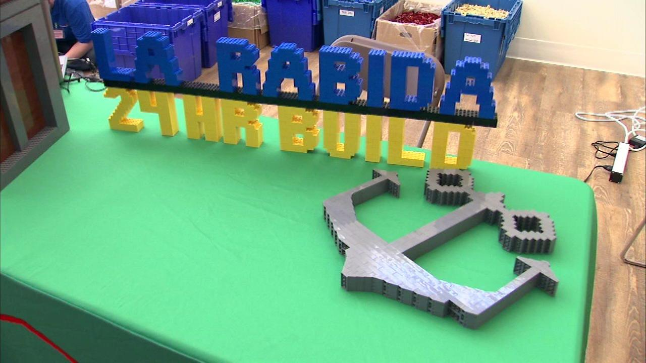 Lego building marathon to benefit La Rabida Children's Hospital