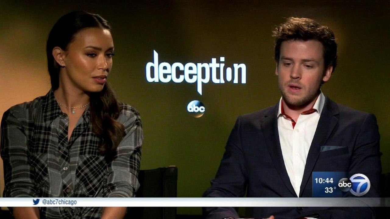 New ABC drama Deception premieres Sunday.