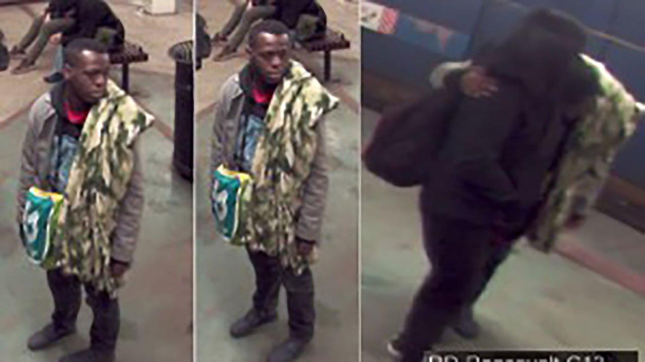 Police have released photos of a man, pictured in a black hat and gray or black jacket, who grabbed a 15-year-old girl March 15 at the Roosevelt Red Line station.