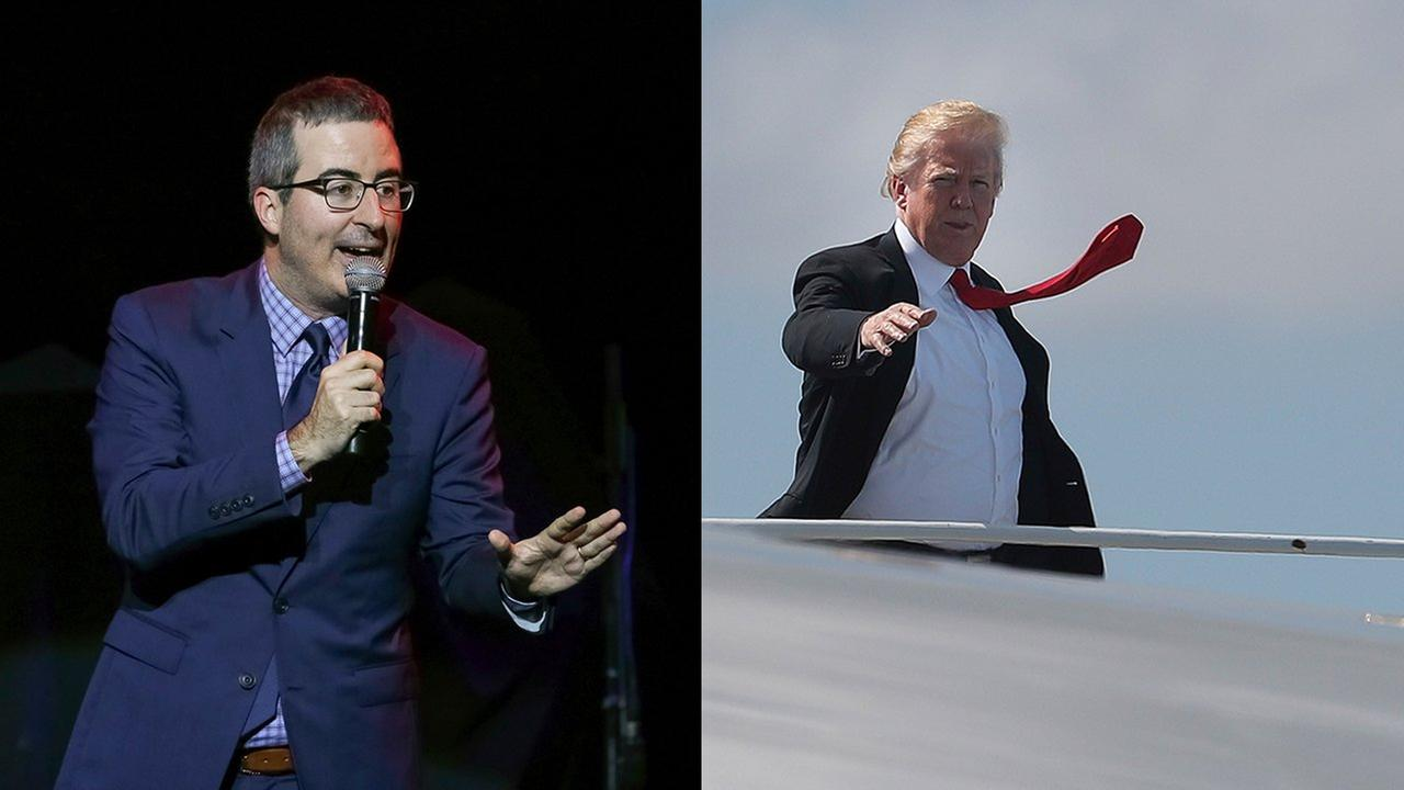 John Oliver Slams Sinclair For Pushing Trump's