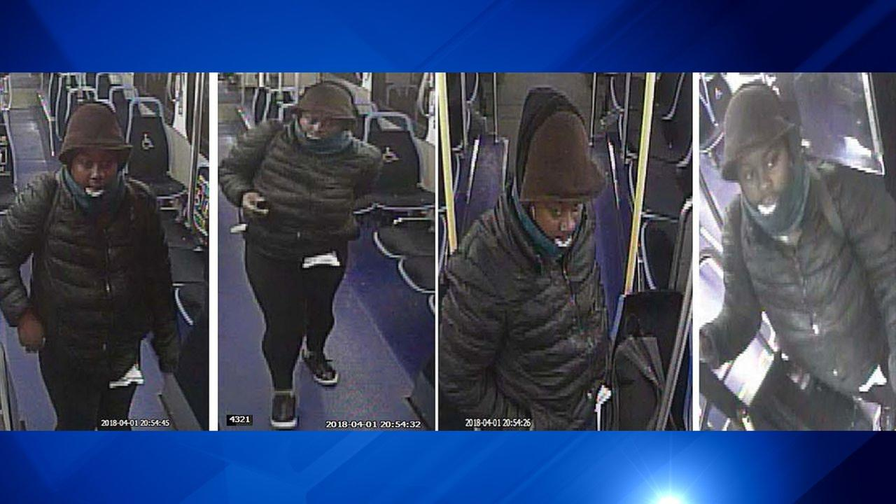 Woman wanted in stabbed on CTA bus on Magnificent Mile