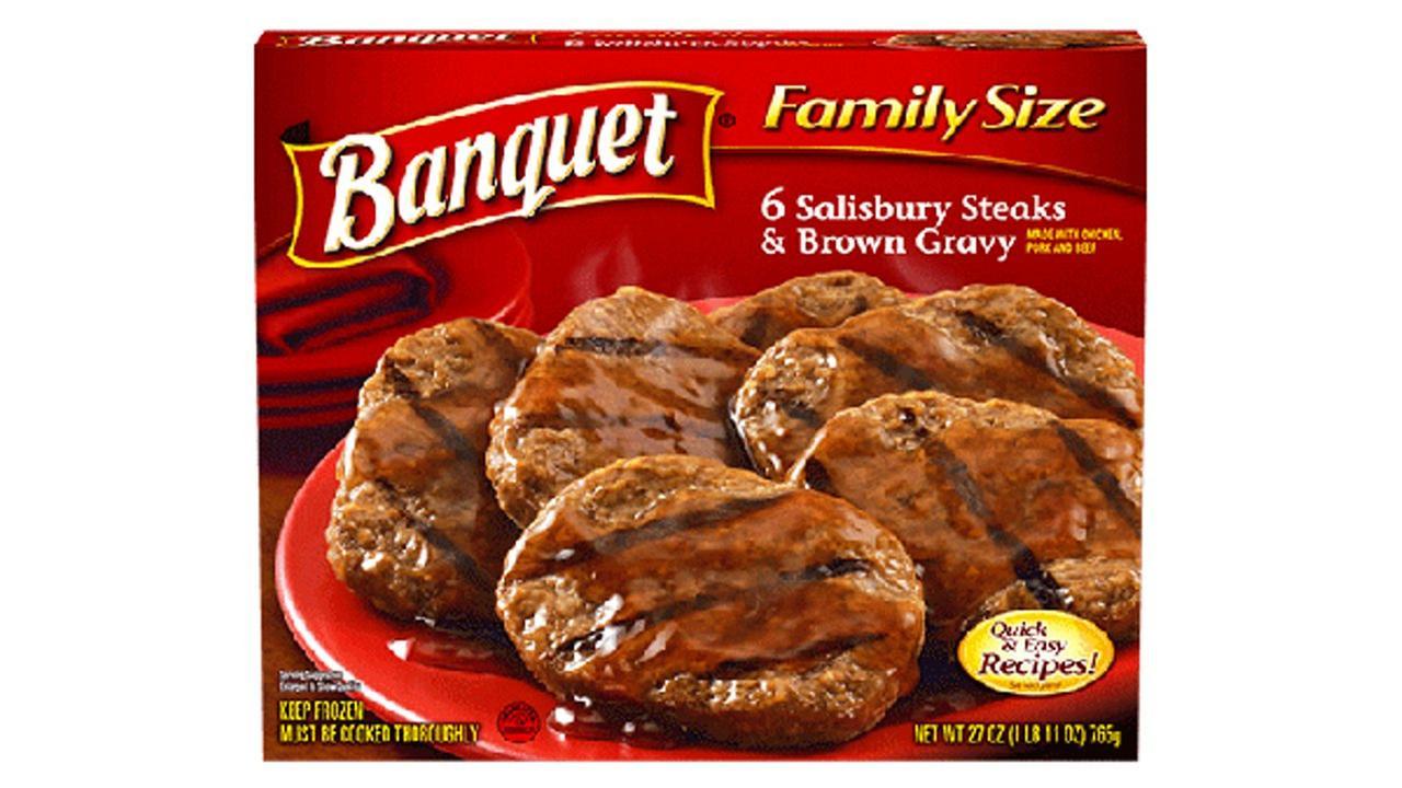 Over 67 tons of frozen Salisbury steak recalled