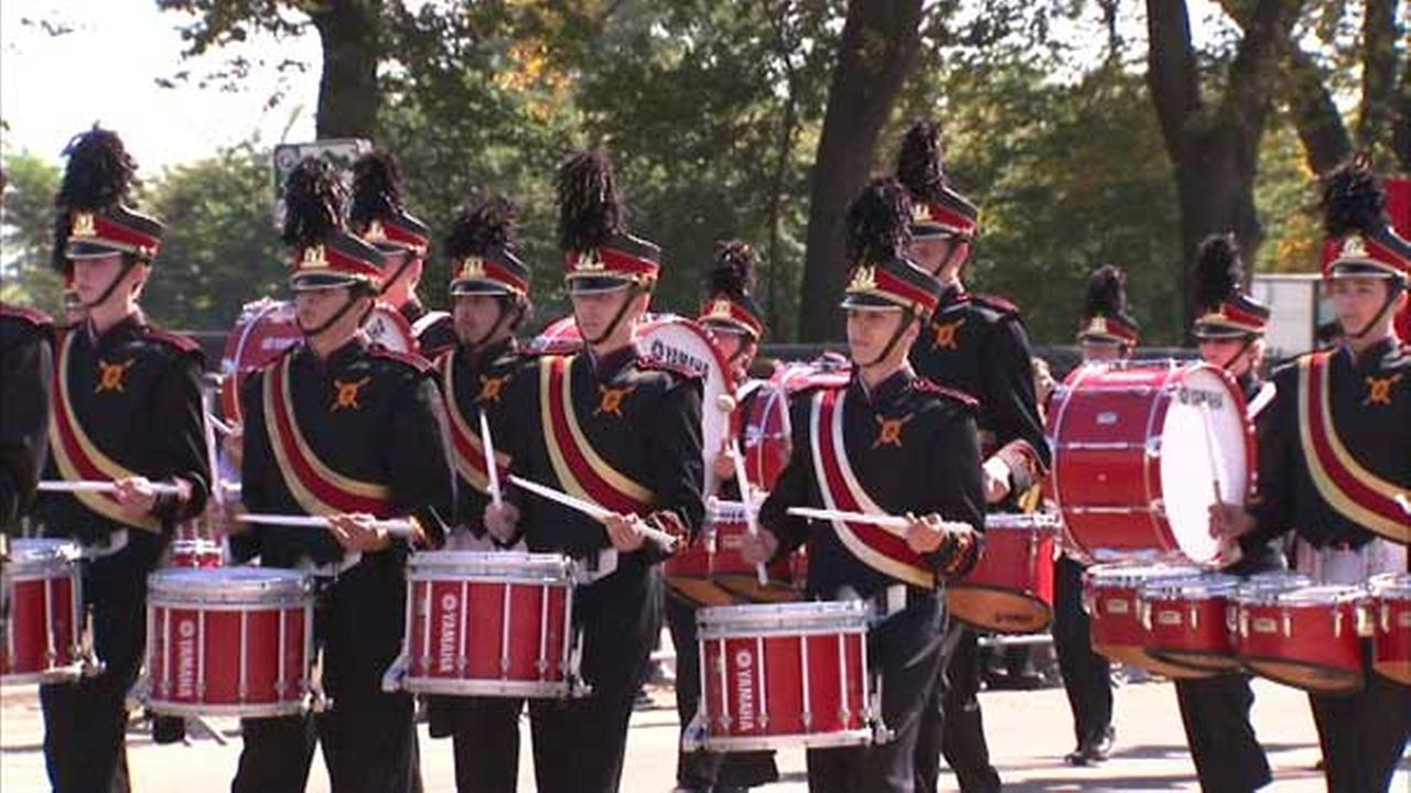 Columbus Day Parade in Chicago.