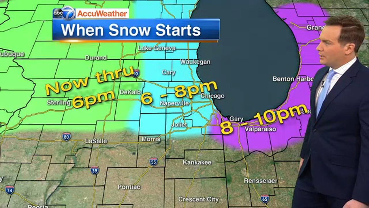 Snow, Sleet: More Winter Misery In Spring For Chicago
