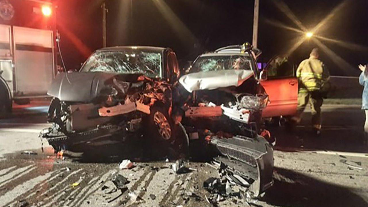 An intoxicated driver hit another intoxicated driver in Indiana Saturday.