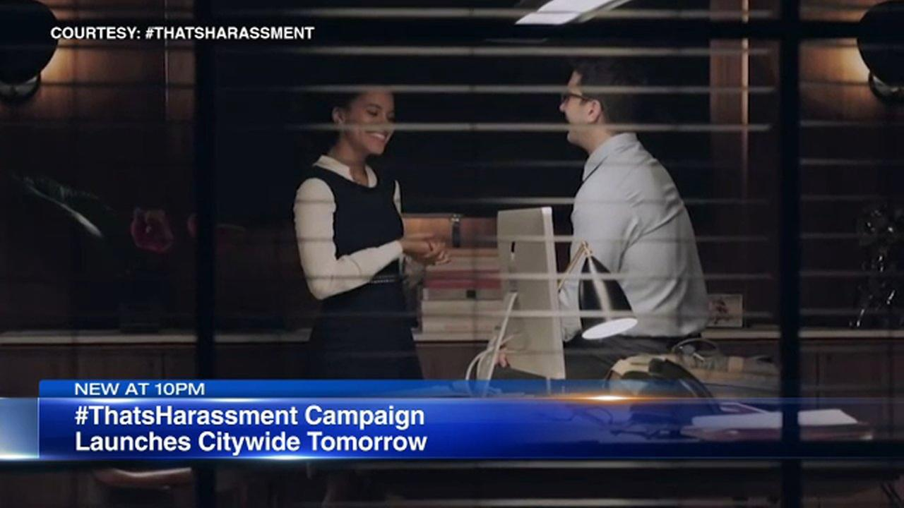 David Schwimmers PSA campaign, Thats Harassment Chicago will be released Monday.