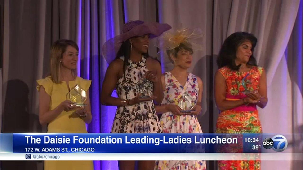 ABC7s Tanja Babich hosted the Daisie Foundations Leading Ladies Luncheon Saturday.
