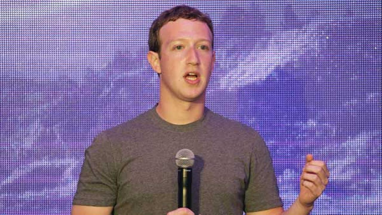 Facebook CEO Mark Zuckerberg delivers a speech during a workshop for application developers in Jakarta, Indonesia.