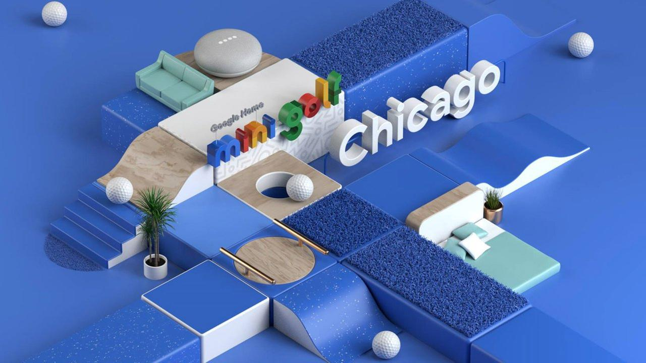 Google builds mini golf course in Chicagos Loop