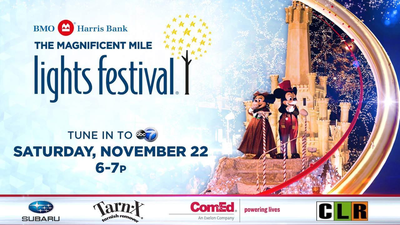 2014 Magnificent Mile Lights Festival