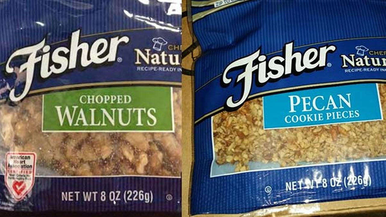 Recall Of Two Fisher Nut Products Fisher 8oz Chopped
