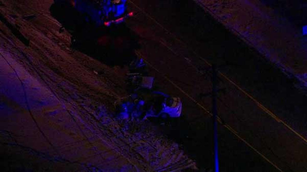 Driver airlifted to hospital after crashing into pole in Lemont
