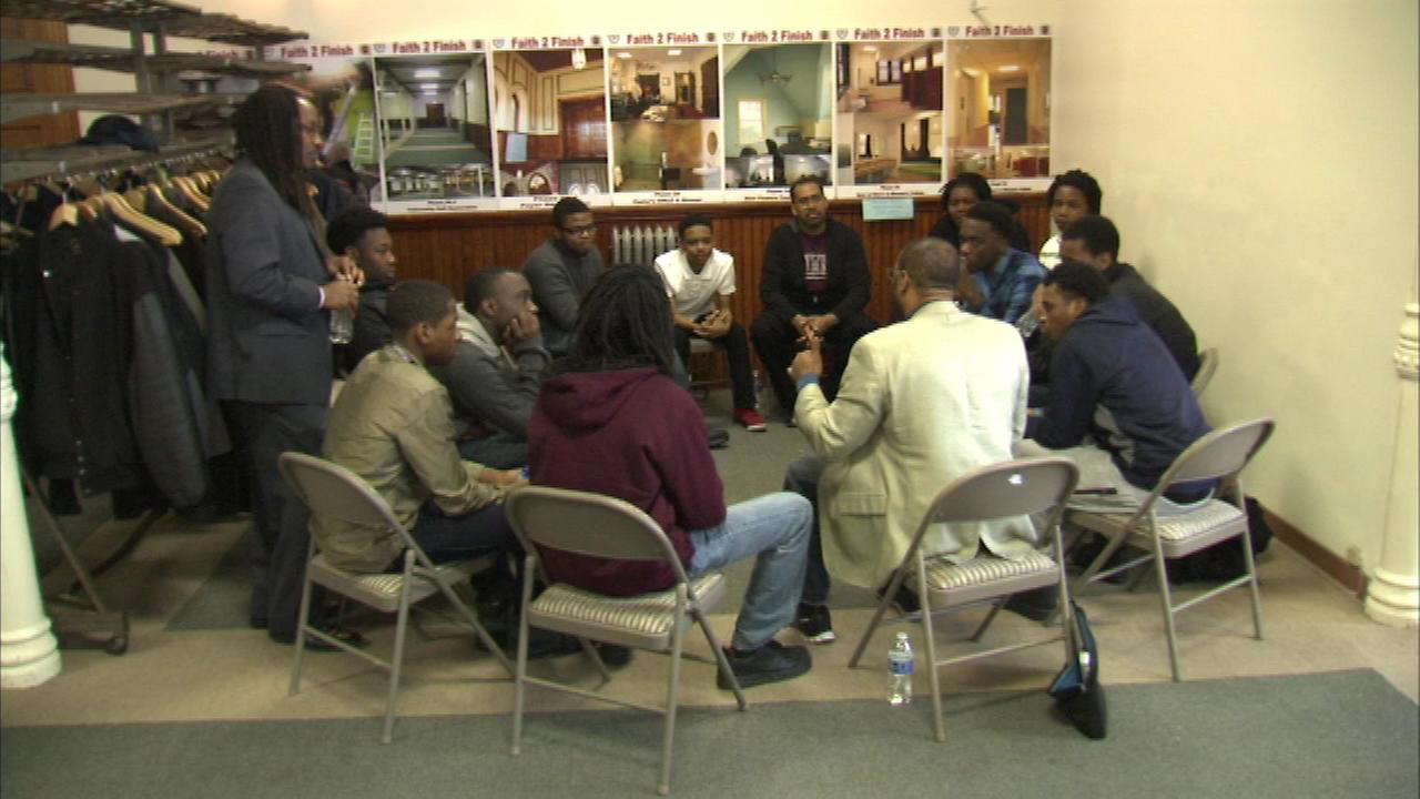 Morehouse College alumni mentor youth to honor MLK