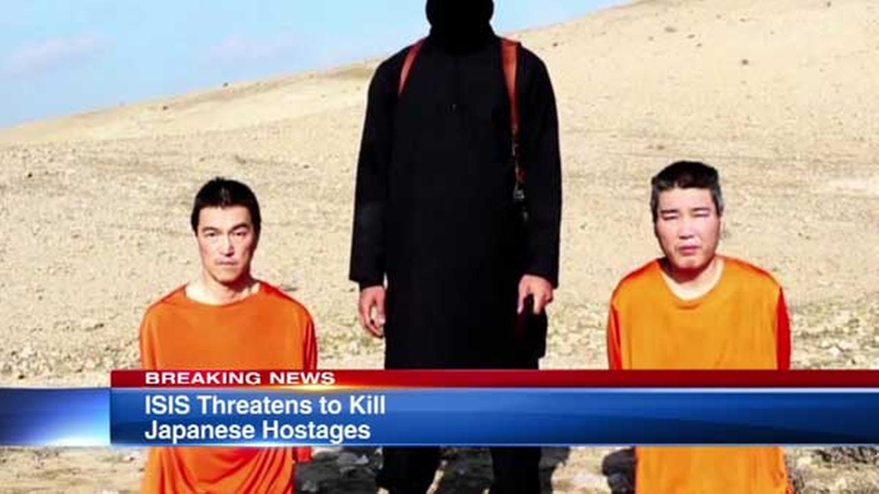 ISIS threatens to kill 2 Japanese hostages in new video | abc7chicago.