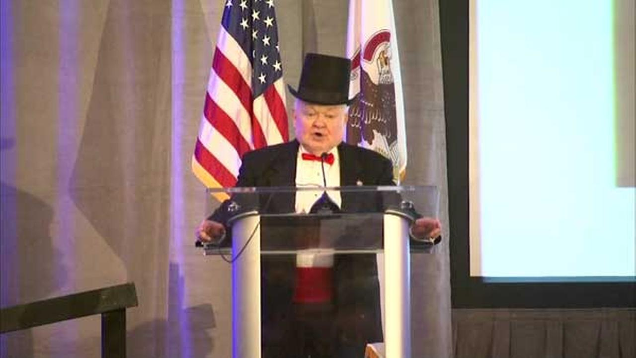 Naperville Mayor George Pradel delivers last State of the City address.