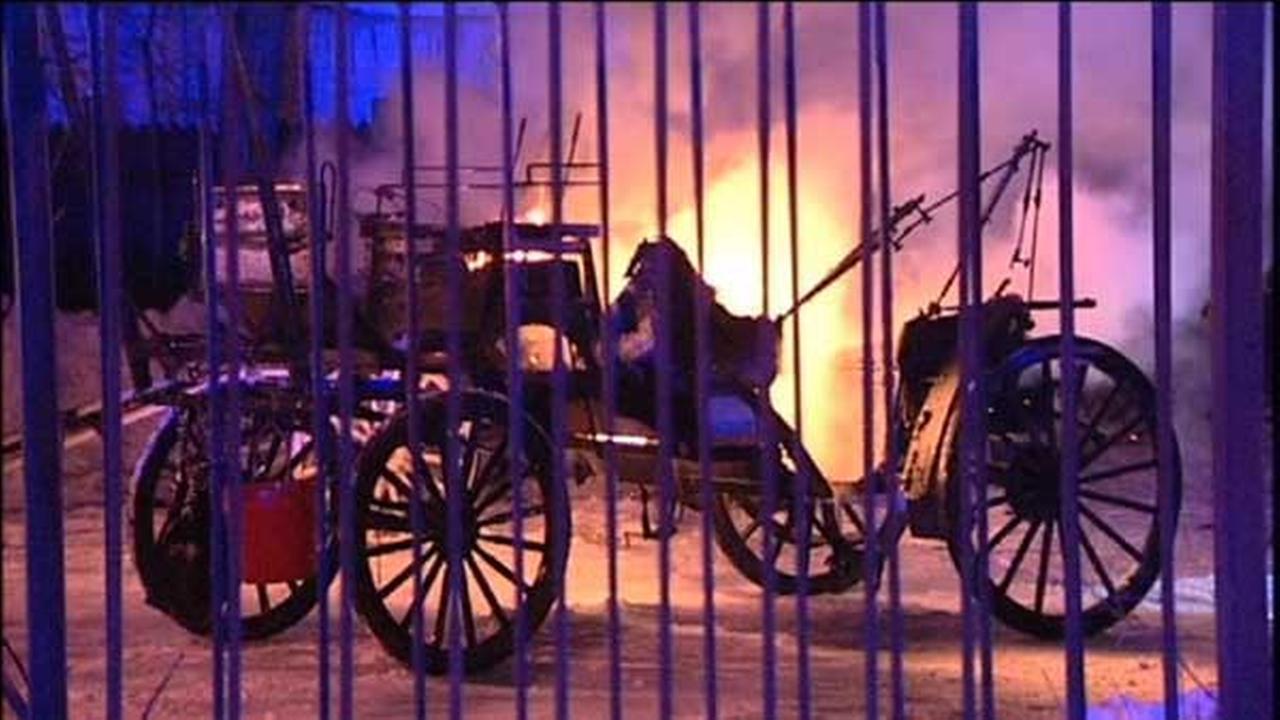FBI increases reward in Noble Horse Theatre arson case