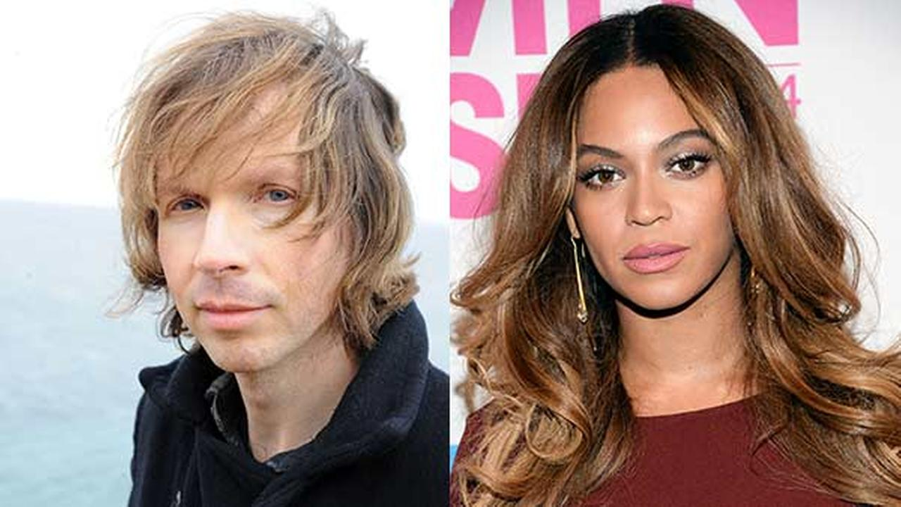 Left: Beck; Right: Beyonce Knowles
