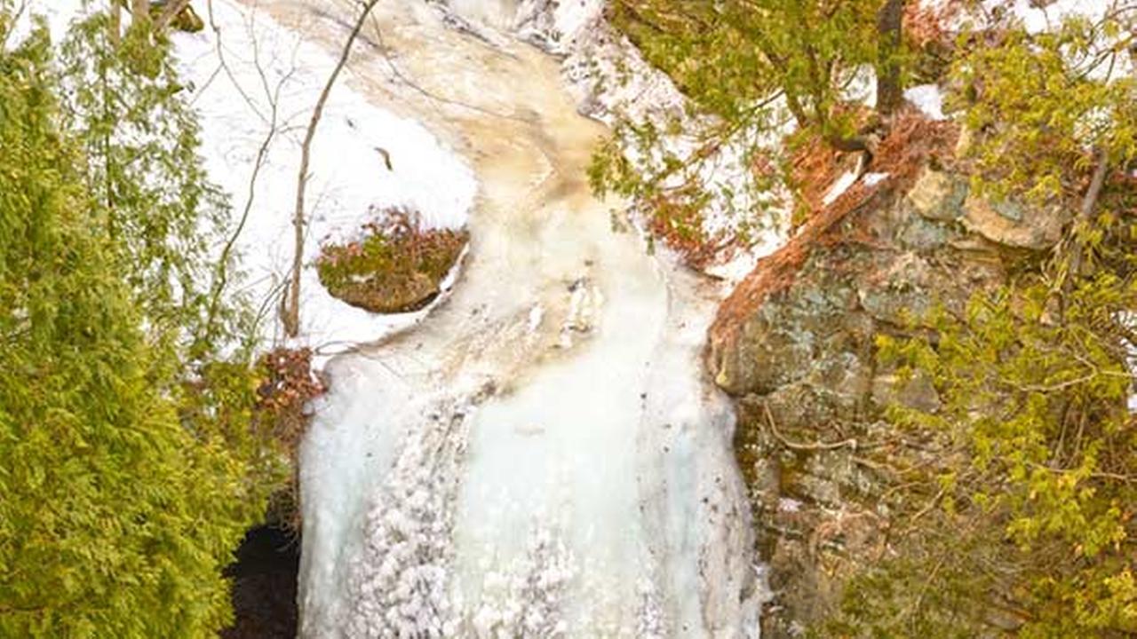 Frozen Wildcat Falls