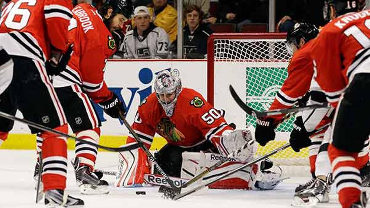 corey crawford, blackhawks