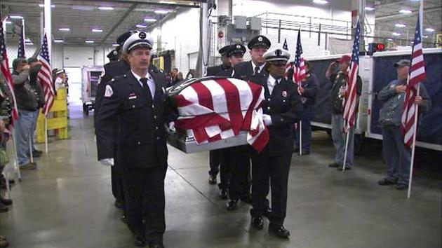 WWII soldier's remains returned to family 73 years after death