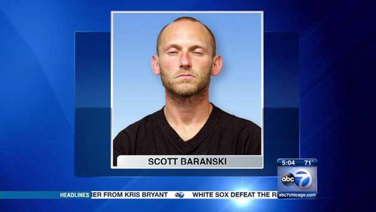 Scott Baranski, 34, was charged in two West Side burglaries.