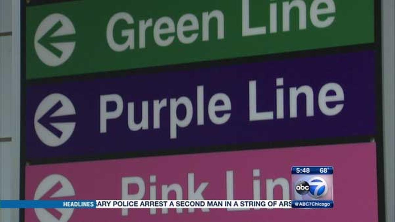 A few people asked ABC7s Roz Varon about the names of the CTAs transit lines. When did the names convert to colors and why was that done?