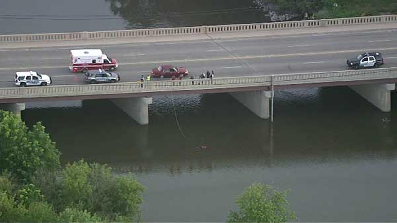A man was rescued from the Des Plaines River at Ogden Road in west suburban Lyons.