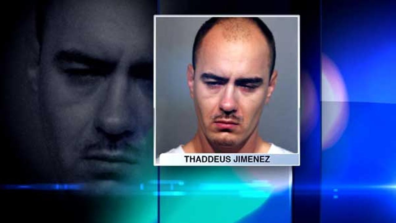 Thaddeus Jimenez, 36, was charged in a shooting in Chicagos Albany Park neighborhood.