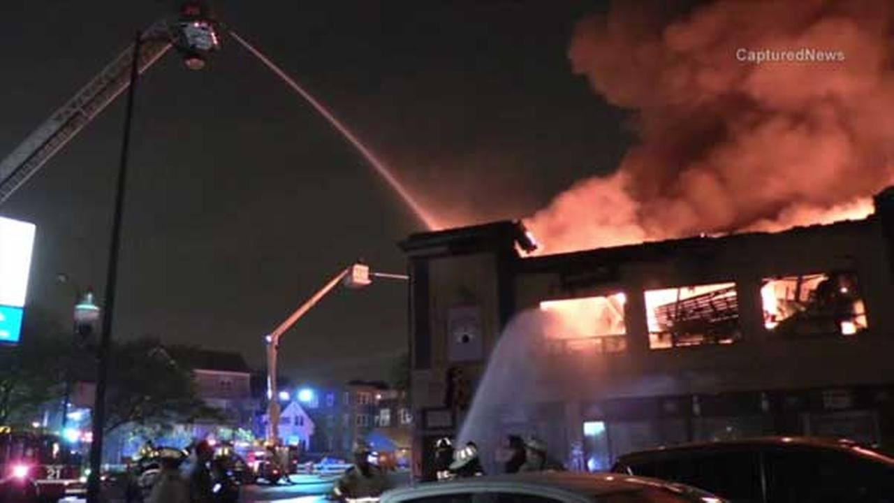 Fire ripped though Lincoln Square Lanes overnight. It was one of Chicagos oldest bowling alleys.