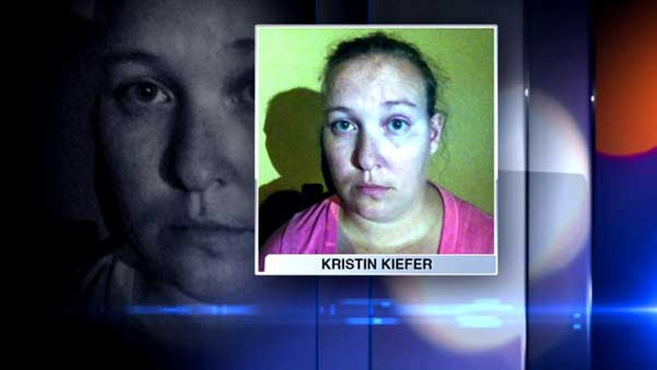 Kristin Kiefer, 30, lied about spotting suspects in the Fox Lake manhunt, prompting a massive five-hour search in Volo for the men wanted in Lt. Joe Gliniewicz, authorities said.
