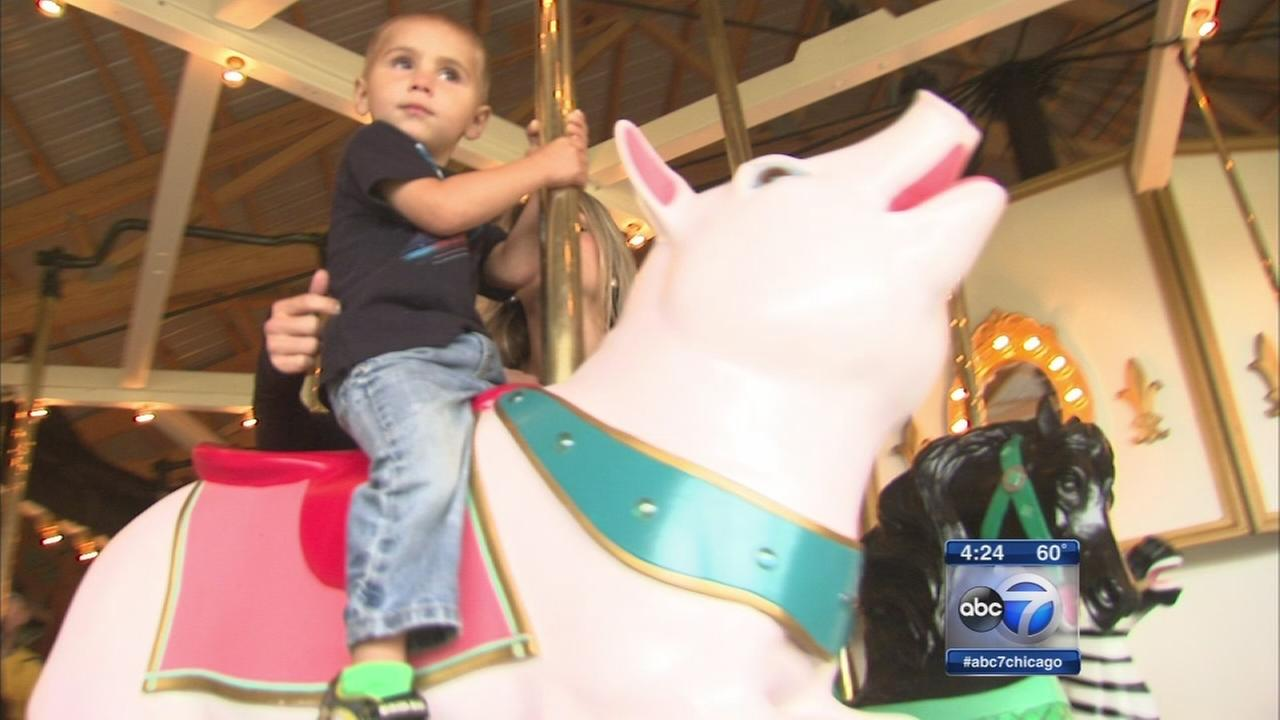 93-year-old carousel opens in McHenry