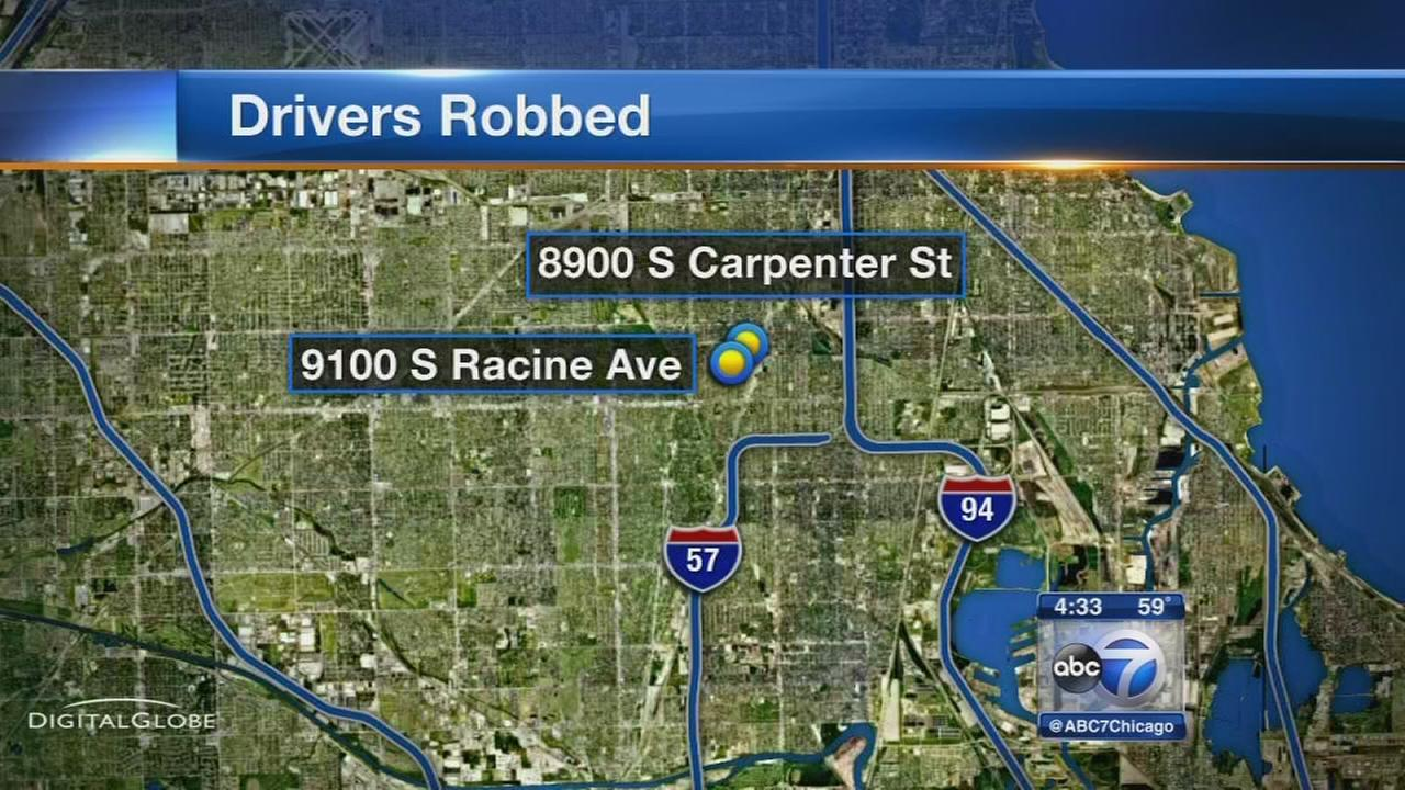 Delivery driver robbed