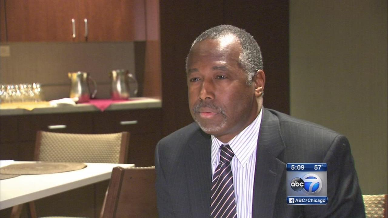Dr. Ben Carson makes Chicago visit