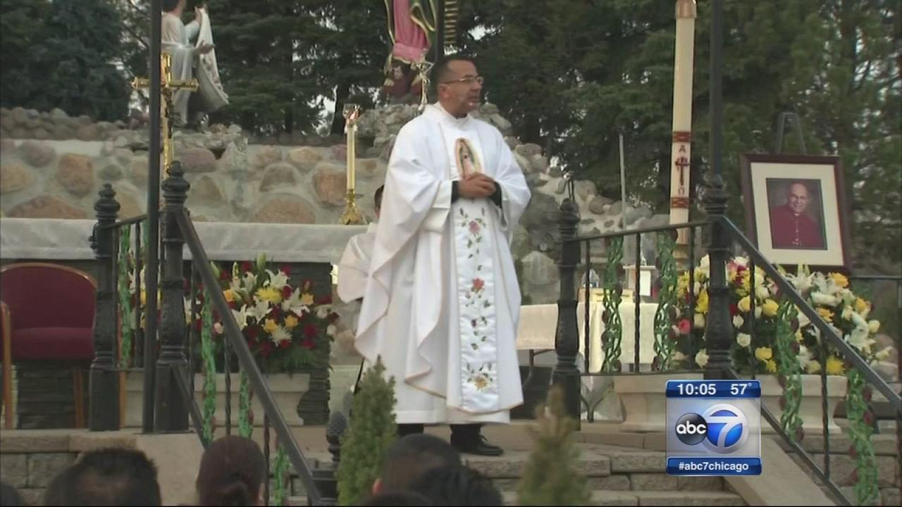 Archdiocese removes suburban priest