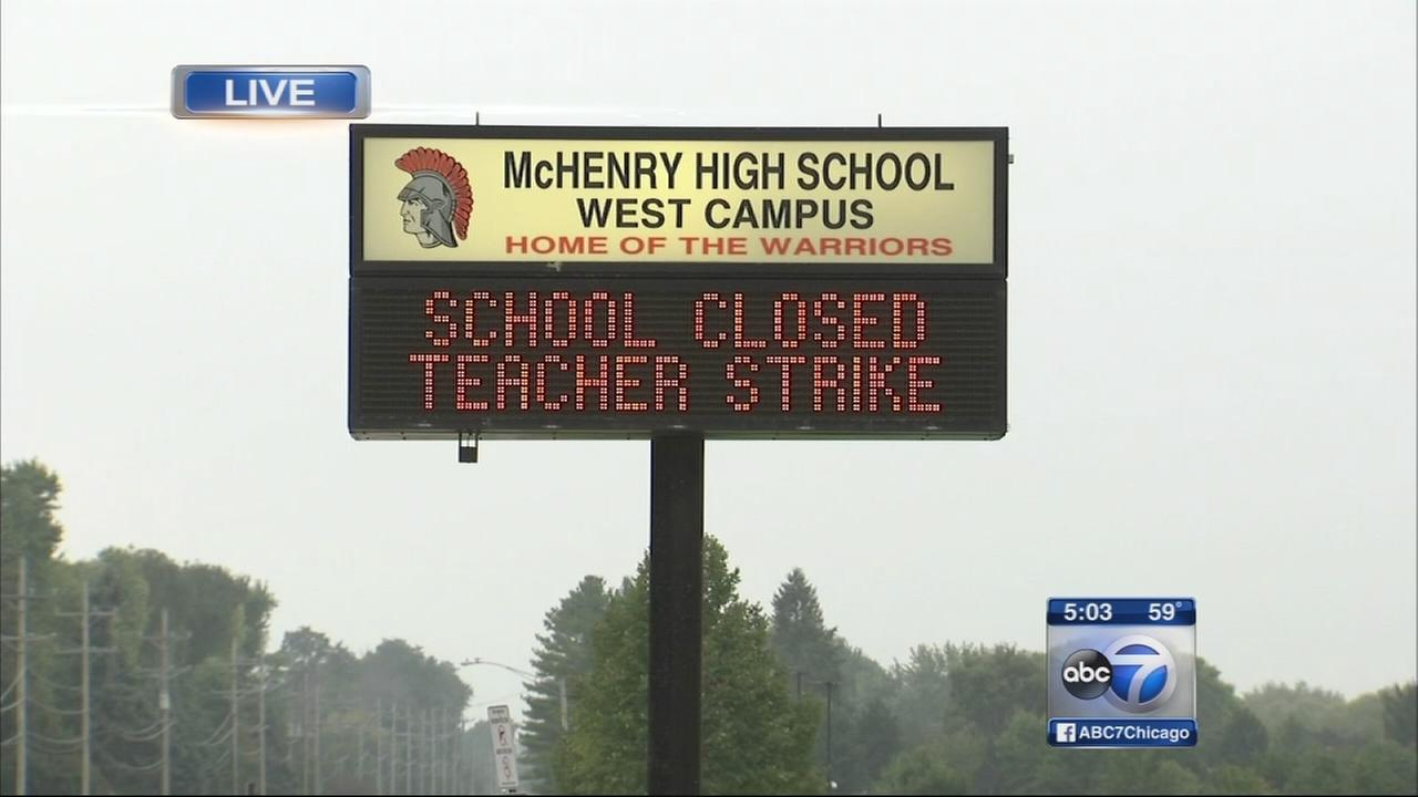 Ongoing McHenry teachers strike affects student athletes