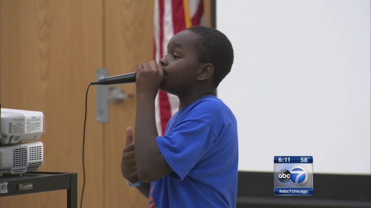 Gary students learn how to stomp out bullying