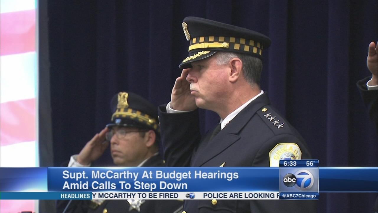 McCarthy to appear before aldermen calling for his firing