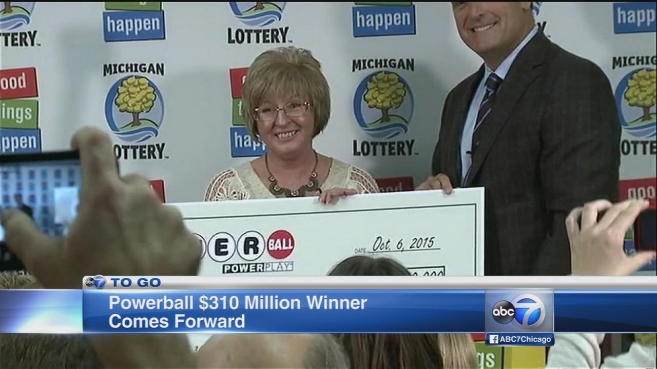 Michigan lottery winner comes forward