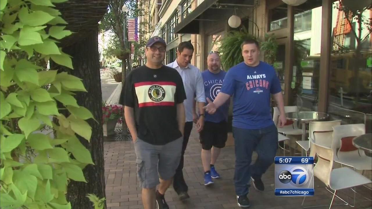 Cubs fans arrive in Pittsburgh