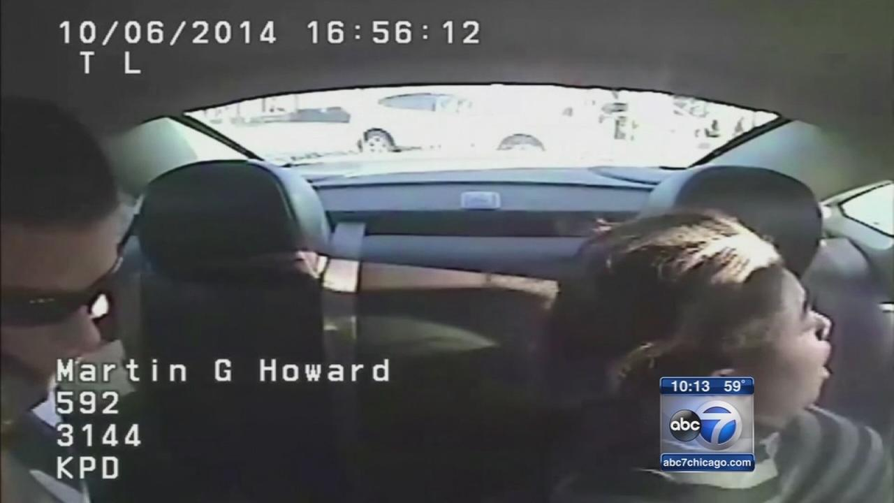 Video shows officer putting hands on womans neck