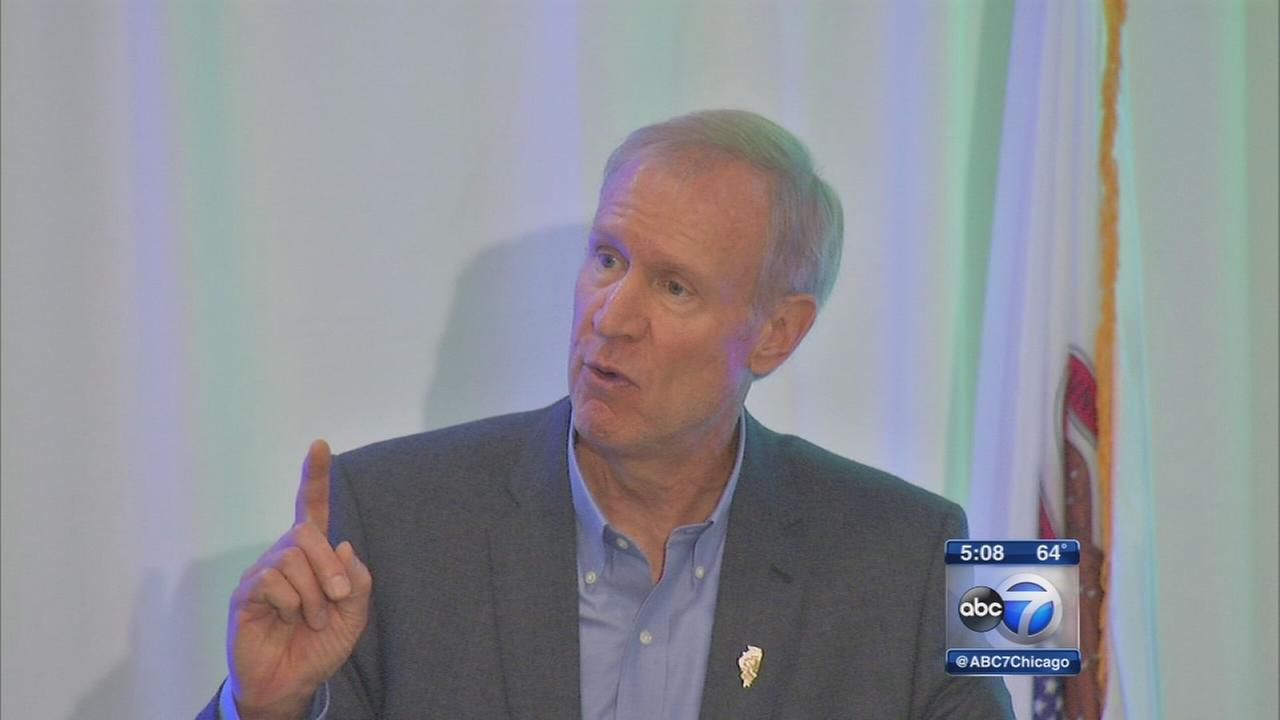 Rauner puts pressure on Democrats for budget deal