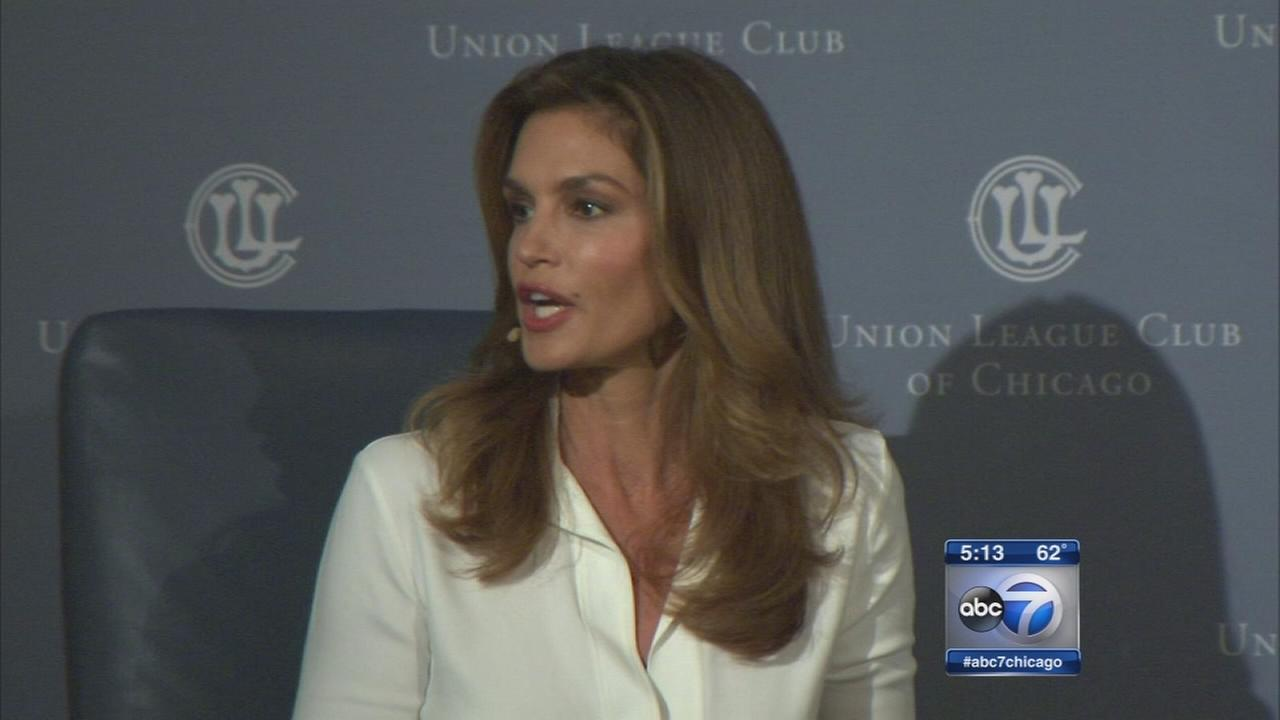 Cindy Crawford talks Chicago