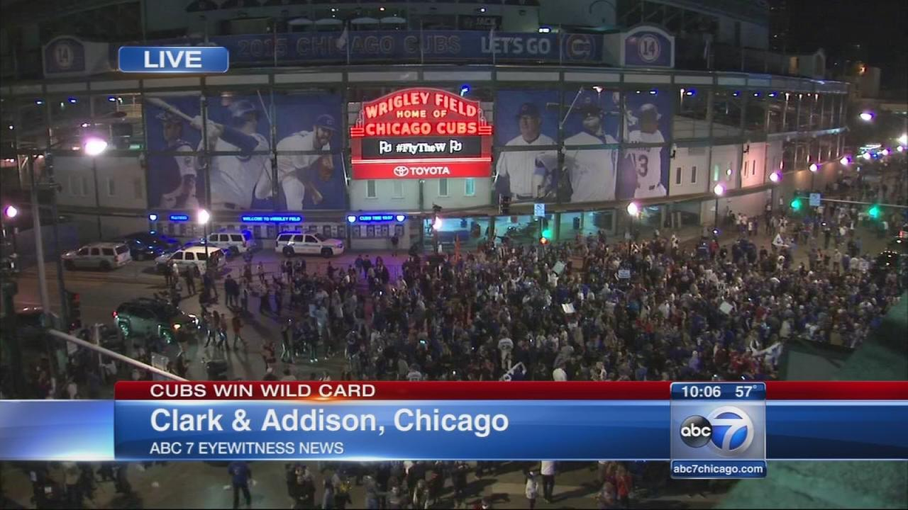 Cubs win wildcard game